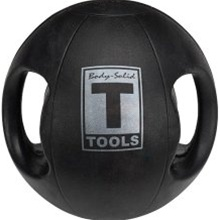 Body Solid Tools Dual Grip Medicine Ball-20 lb.