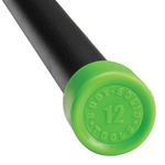 Body Solid BSTFB12 12 lb. Green Padded Weight Bar