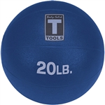 Body Solid Medicine Ball - 20LB Dark Blue
