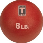 Body Solid BSTMB8 8 lb. Red Medicine Ball