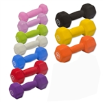 Body-Solid  Neoprene Dumbbells 1-10lbs. pairs