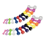 Body Solid Vinyl Dumbbell Set 1-15 lbs. pairs