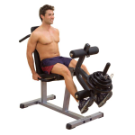 Body Solid Seated Leg Extension & Supine Curl