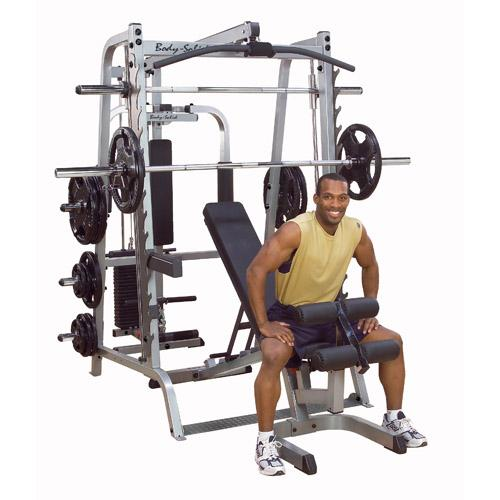 Home Exercise Equipment Price: Body Solid Series 7 Smith Gym