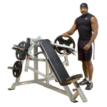 Body Solid Pro Leverage Incline Bench Chest Press - Plate Loaded