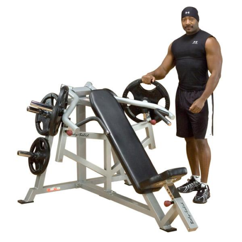 Body Solid Pro Leverage Incline Bench Chest Press Plate