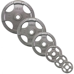 Body Solid Gray Steel Grip Olympic Plate 355 lbs. Set