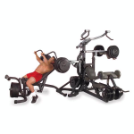 Body Solid SBL460P4 Freeweight Leverage Multi Gym