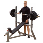 Body Solid Pro Clubline Incline Olympic Bench