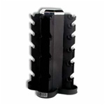 CAP 4 Sided Vertical DB Rack - Black