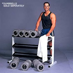 "CAP 48"" Three Tier Dumbbell Rack"