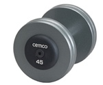 Cemco Fitness - Cast Iron Pro-Style Dumbbell Set - 5-50 Lb Set
