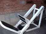 leg press,45 degree, used, lower body, plate loaded