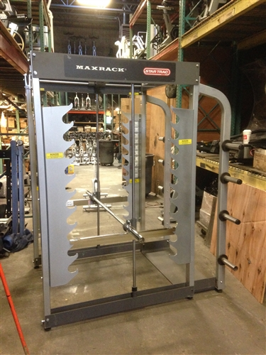 Star Trac Max Rack 3d Smith Machine Gymstore Com