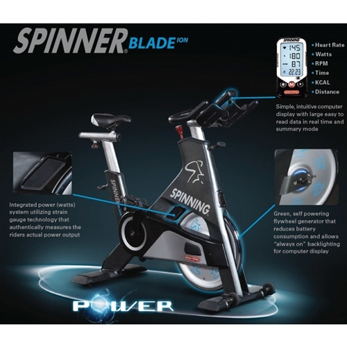 Star Trac Blade Ion Spin Bike Gymstore Com