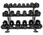 TAG 3 Tier Dumbbell Rack with Saddles (10pair) RCK-SD3