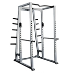 Power Rack With Weight Storage