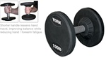 York 5-100 Lb. Pro Style Dumbbell Set - Solid Steel Handle