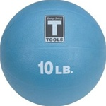 Body Solid BSTMB10 10 lb. Blue Medicine Ball