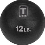 Body Solid BSTMB12 12 lb. Black Medicine Ball