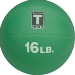 Body Solid BSTMB16 16 lb. Green Medicine Ball