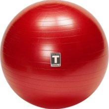 Body Solid Burst-Resistant Exercise Ball - Red (65 cm) BOD-BSTSB65