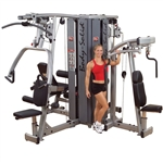 Body Solid Pro Dual Four Stack