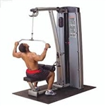 Body Solid Pro Dual Lat Mid Row Combo Machine