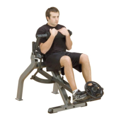 Semi-Recumbant Dual Ab Bench