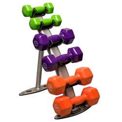 Body Solid Rack and Dumbbells Package