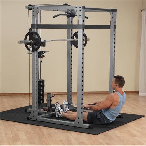cable crossover attachment for power rack