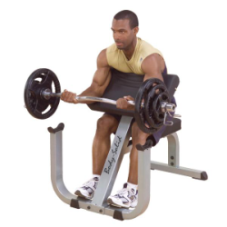 Body Solid Preacher Curl Bench