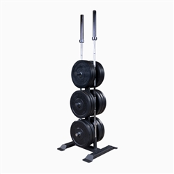 Body Solid Olympic Weight Tree and Bar Holder