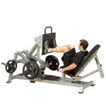 Body Solid Leverage Horizontal Leg Press Squat