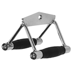 Body Solid Seated Row/Chin Bar Combo(rubber grip)