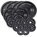 Body Solid Cast Iron Olympic Weight Plate 355 lb. Set