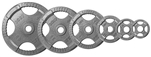 Body Solid Gray Steel Grip Olympic Plate 255 lbs. Set