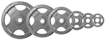 Body Solid Gray Steel Grip Olympic Plate 455 lbs. Set