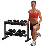Body Solid Powerline Dumbbell Rack