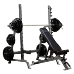 Body Solid Pro Clubline Series 2 Olympic Press System