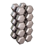 Body Solid Hex Dumbbell Set 55-75 lbs.
