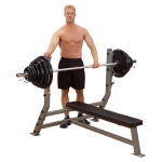 Body Solid Pro Clubline Flat Olympic Bench