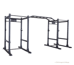 Body Solid ProClub Commercial Double Power Rack