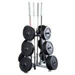 Body Solid Olympic  Plate Tree
