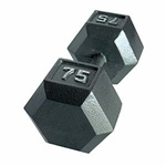 CAP Cast Hex Dumbbell Set - 105-120 Lb Set