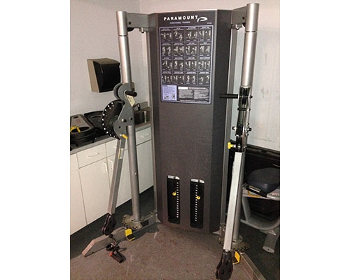 Paramount Dual Stack Cable Crossover Gymstore Com