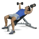 Inflight Fitness Flat-Incline-Decline Bench