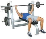 Inflight Fitness 5000 Olympic Bench with Weight Horns