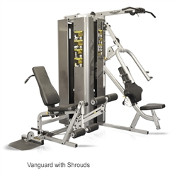 Inflight Fitness Vanguard 2 Stack 3 Station Multi Gym