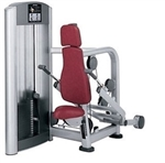 Life Fitness Signature Series Triceps Press Seated Dip